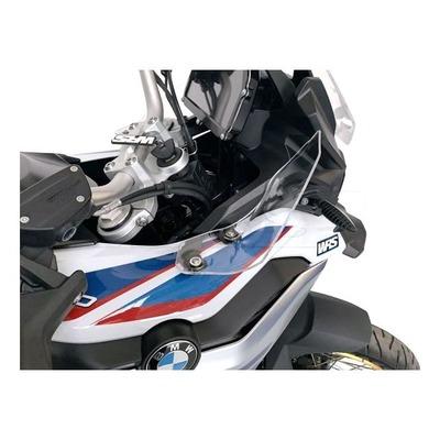 Déflecteurs d'air WRS transparent BMW F 850/750 GS 18-20