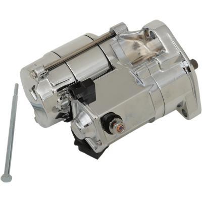 Démarreur électrique Drag Specialties Twin-Cam 99-06 haute performance 1,7 Kw chrome
