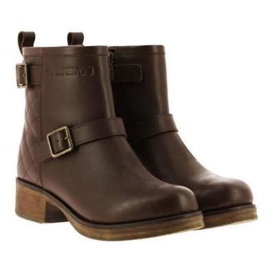 Demi-bottes femme Overlap ROCK marron