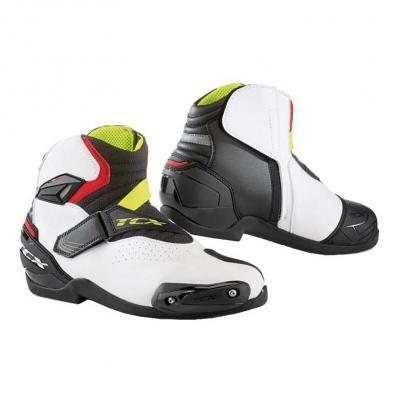 Demi-bottes TCX Roadster 2 Air noir/blanc/rouge