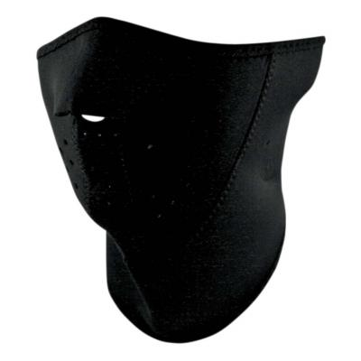Demi-masque Zan Headgear 3 panel noir