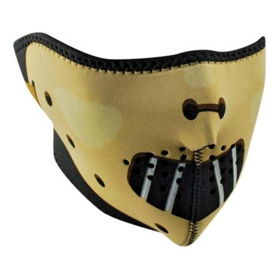 Demi-masque Zan headgear Hannibal jaune