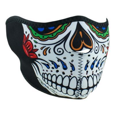 Demi-masque Zan Headgear Muerte Skull