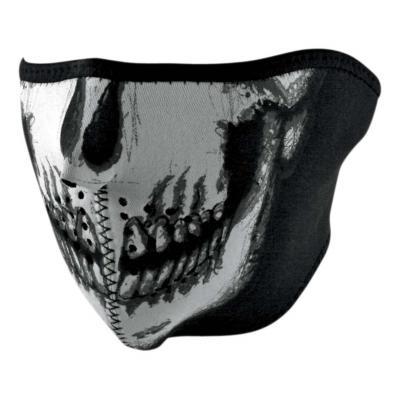 Demi-masque Zan headgear skull Glow phosphorecent