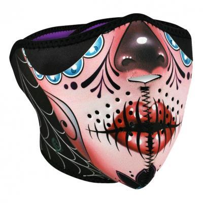 Demi-masque Zan Headgear Sugar skull