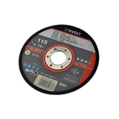 Disque à Tronçonner acier et inox D.115