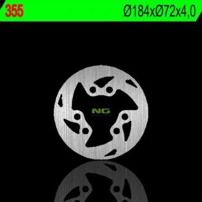 Disque de frein NG Brake Disc D.184 fixe avant gauche - 355