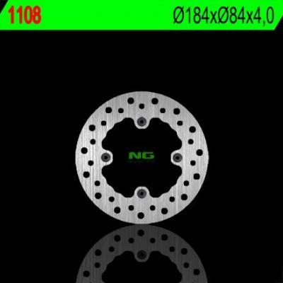 Disque de frein NG Brake Disc D.184 rond arrière Kawasaki kx 80