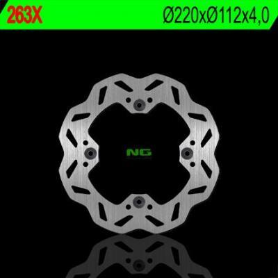 Disque de frein NG Brake Disc D.220 pétale arrière sherco se/se-r 250/300