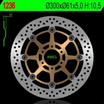 Disque de frein NG Brake Disc D.300 - 1236