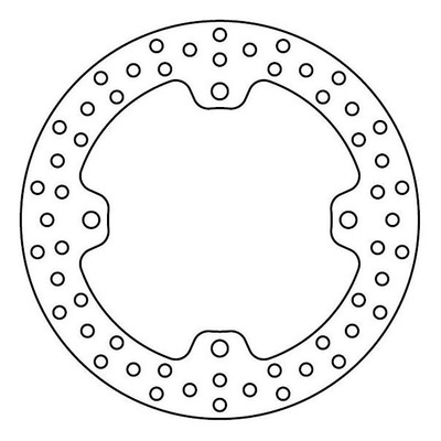 Disque de frein TRW MST201 Ø256 mm