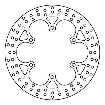 Disque de frein TRW MST207 Ø318 mm