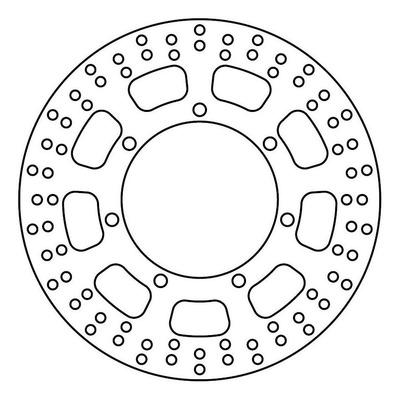 Disque de frein TRW MST210 Ø300 mm