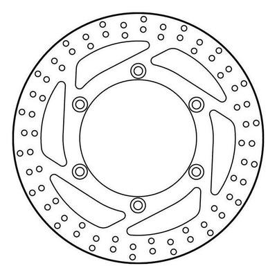 Disque de frein TRW MST215 Ø310 mm
