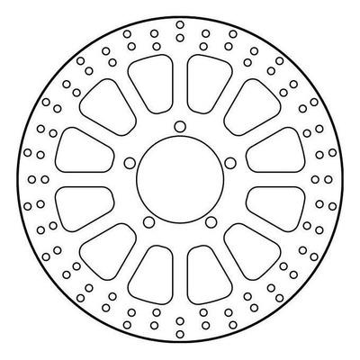 Disque de frein TRW MST216 Ø310 mm