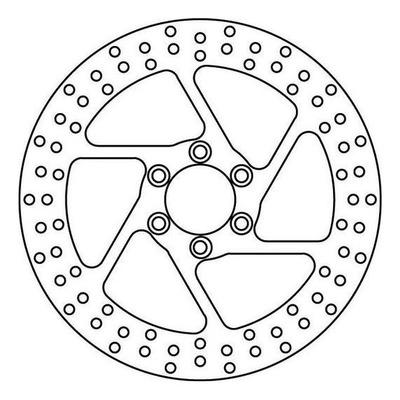 Disque de frein TRW MST231 Ø295 mm