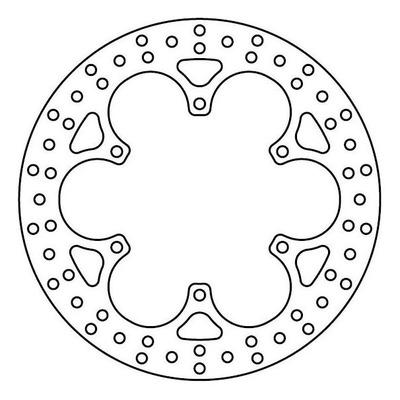 Disque de frein TRW MST234 Ø282 mm