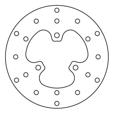 Disque de frein TRW MST236 Ø190 mm