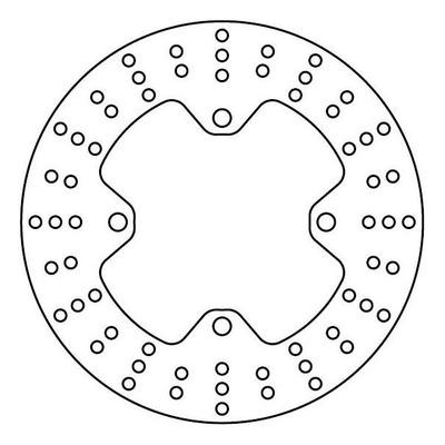 Disque de frein TRW MST240 Ø240 mm