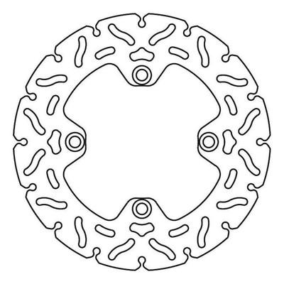 Disque de frein TRW MST240RAC Ø240 mm