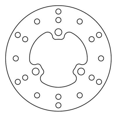 Disque de frein TRW MST241 Ø162 mm