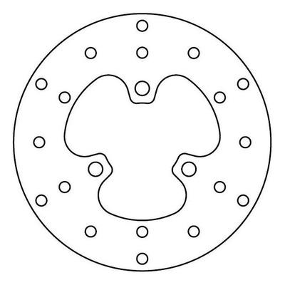 Disque de frein TRW MST243 Ø190 mm