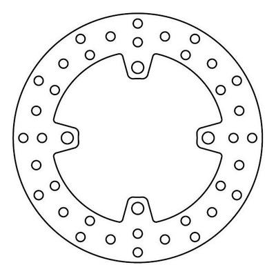 Disque de frein TRW MST245 Ø220 mm