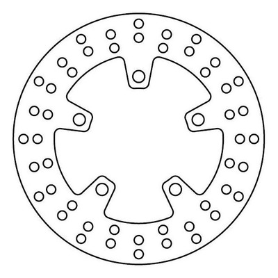 Disque de frein TRW MST246 Ø220 mm