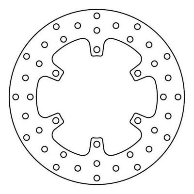 Disque de frein TRW MST247 Ø245 mm