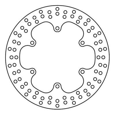 Disque de frein TRW MST248 Ø267 mm