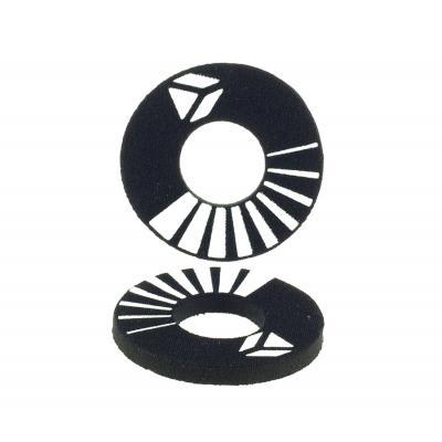 Donuts noir YCF d25 x d55 x 5mm