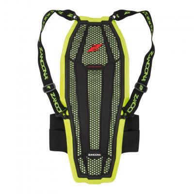 Dorsale Zandona Esatech Back Pro X8 Haute visibilité jaune fluo/noir (Taille 178/187cm)