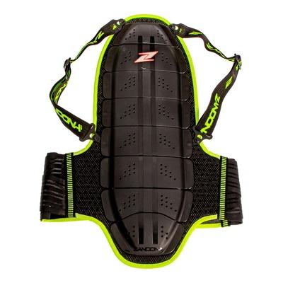 Dorsale Zandona Shield Evo X8 haute visibilité noir/jaune fluo (Taille 178/187cm)