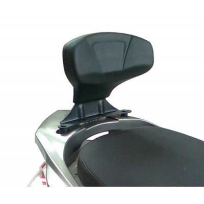 Dosseret spécifique Kappa Kymco 125i Downtwon 09-15 noir