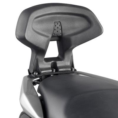 Dosseret spécifique Kappa Yamaha 125 N-Max 15-18 noir