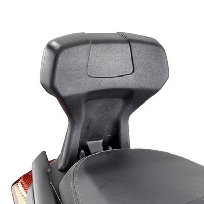 Dosseret spécifique Kappa Yamaha 300 X-Max 17-18 noir