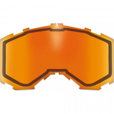 Double écran injecté AKA orange