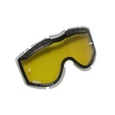 Double écran Progrip 3256 anti-buée jaune