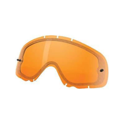 Double écran ventilé Oakley Crowbar Snowcross persimmon