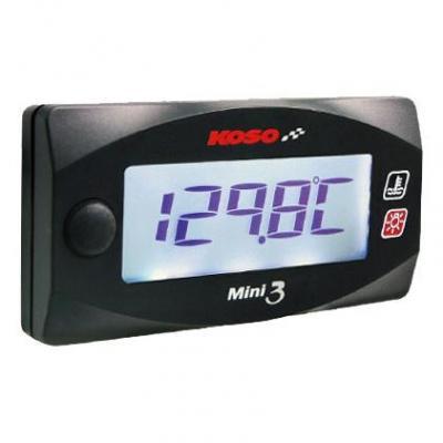 Double thermomètre Koso Mini 3