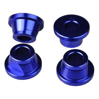 Douilles pontet de guidon Scar Kawasaki 250 KX 19-21 bleu (4 pièces)
