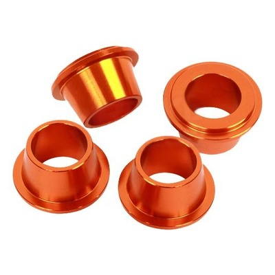 Douilles pontet de guidon Scar KTM 125 SX 16-21 orange (4 pièces)