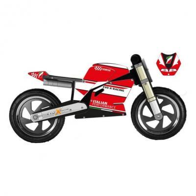 Draisienne moto Kiddimoto Superbike Ducati 916 vintage replica