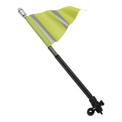 Drapeau de sécurité avec Led jaune fluo/reflex