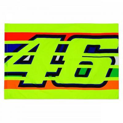 Drapeau VR46 Valentino Rossi Tstripes multi 2019