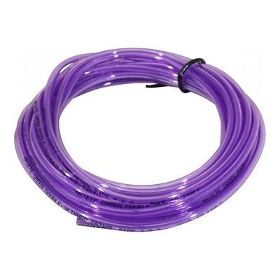 Durite d'essence violet double épaisseur Ø 4x7mm 10m