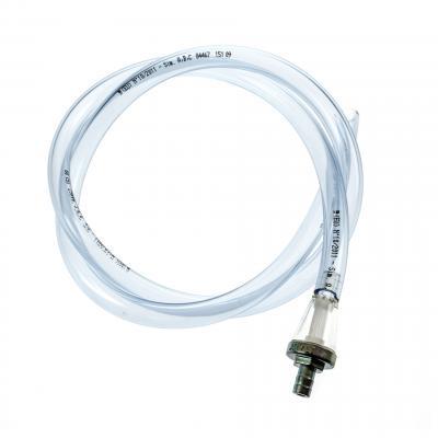Durite essence 1 mètre 8x12 transparente avec Filtre essence conique D8