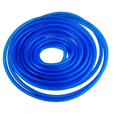 Durite essence 5x8 bleu transparent - 10 m