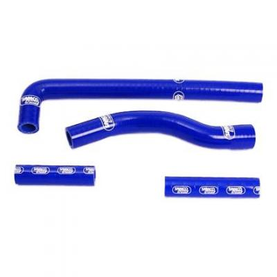 Durites de radiateur Samco Sport type origineYamaha WR 450F 01-02 bleu (4 durites)