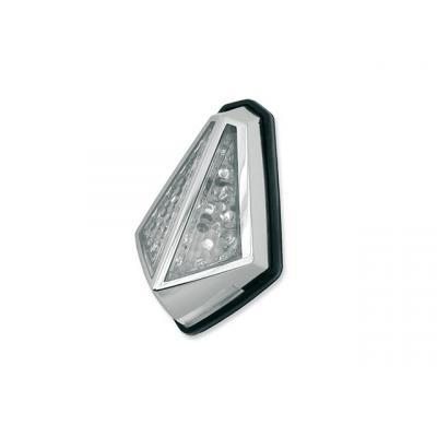 Éclairage arrière Chrome type rubis Vicma avec éclairage plaque immatriculation